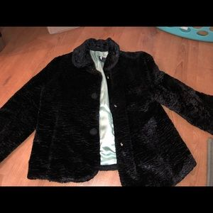 Gap SJP Cropped Chenille Coat 4 EUC